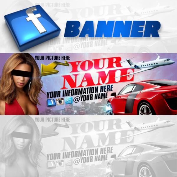Facebook Banner Template 2
