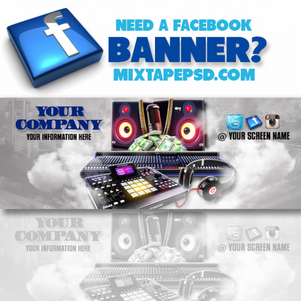 Facebook Banner Template 4
