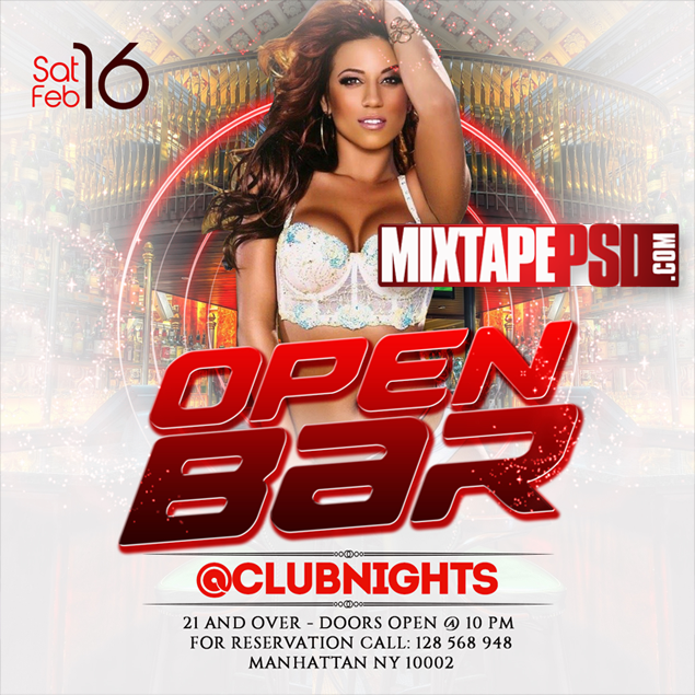 Flyer PSD Template Club Nights 26