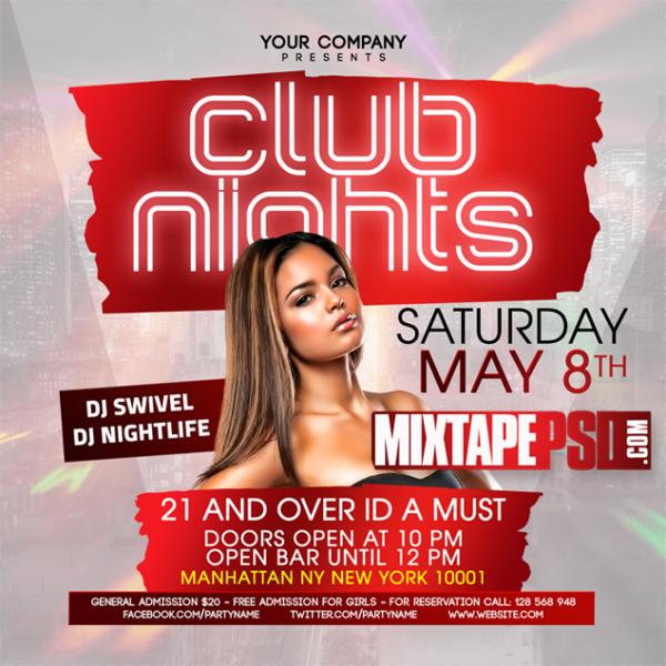 Flyer Template Club Nights 5