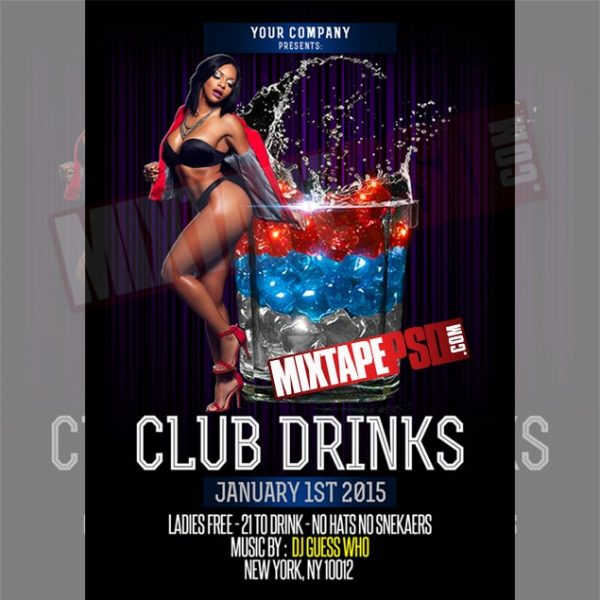 Free Flyer Club Drinks