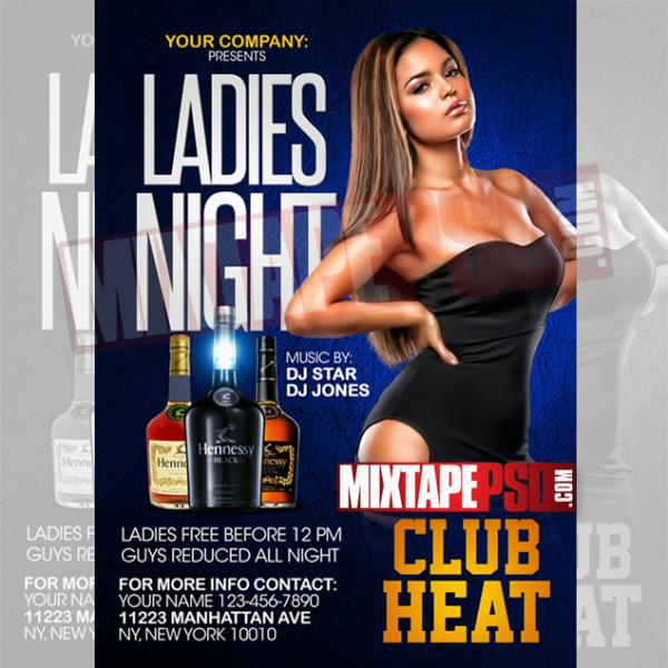 Flyer Template Ladies Night