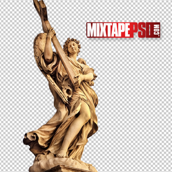 Angel Statue PNG