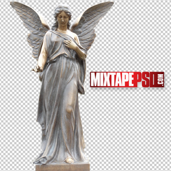 Angel Statue Template 3