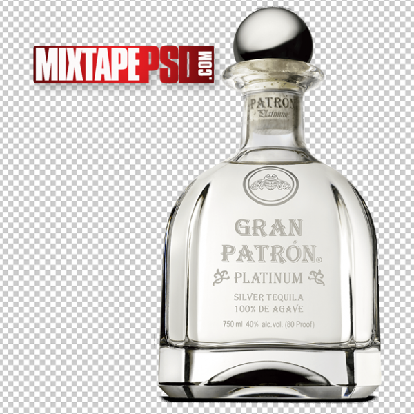 Bottle of Patron PNG