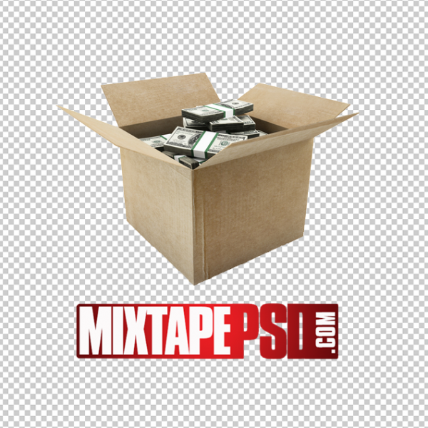 Box of Money PNG Image