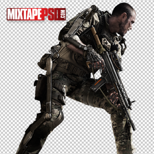 Call of Duty Soldier PNG