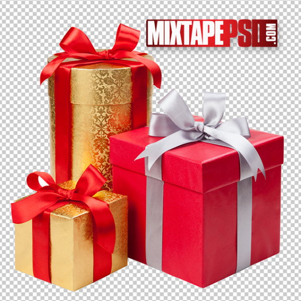 Christmas Present Template 3