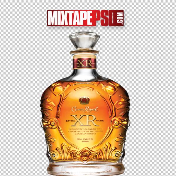 Crown Royal Liquor Bottle PNG