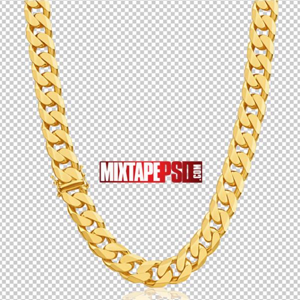 Gold Diamond Cut Chain