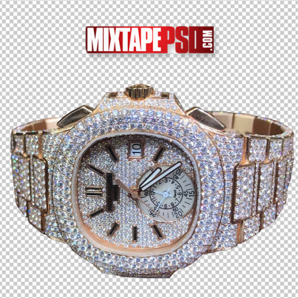 Diamond Rolex Watch Template