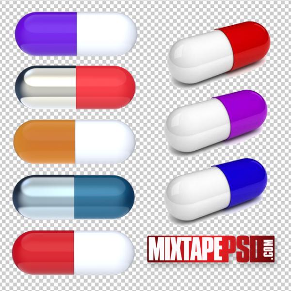 Drug Pills PNG
