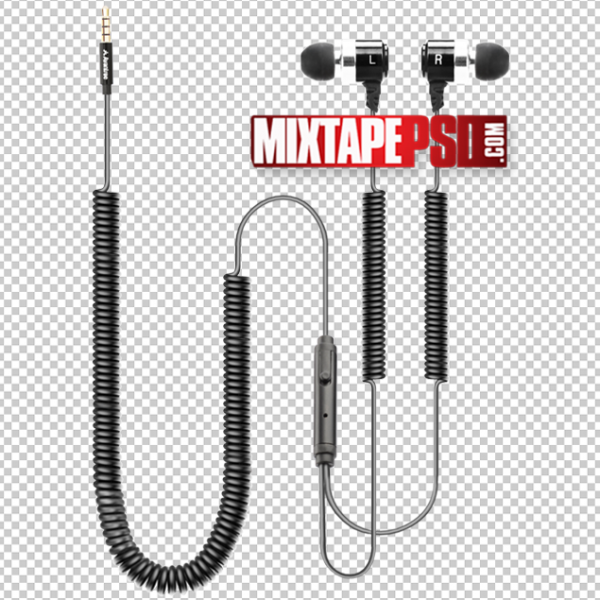 Earphone Cable Template