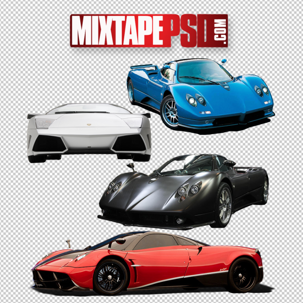 Exotic Cars Template 2 PNG Image