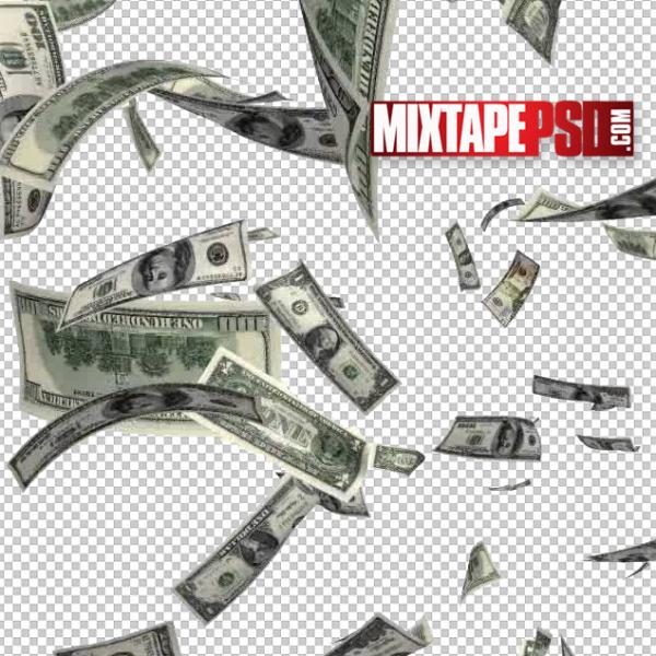 Falling Money Template
