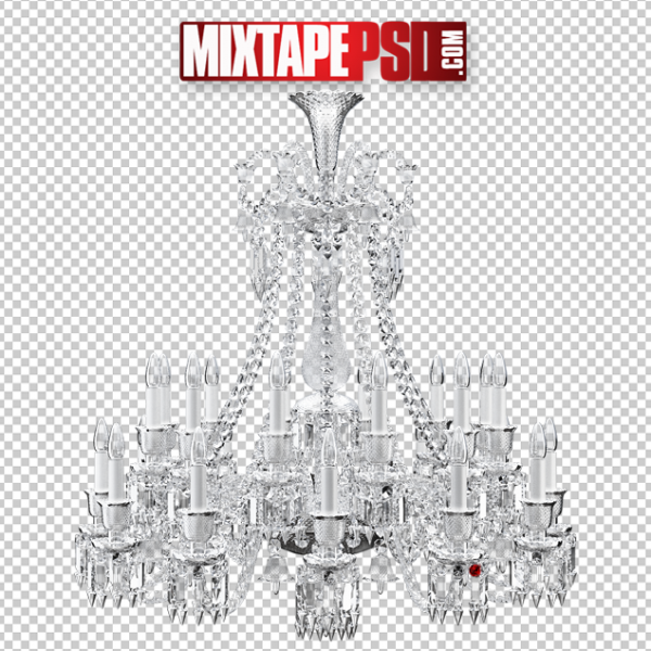 Glass Chandelier PNG