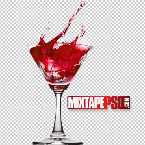 Glass of Cosmopolitan PNG