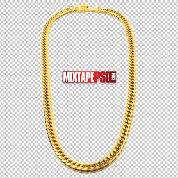 Gold Chain PNG 2