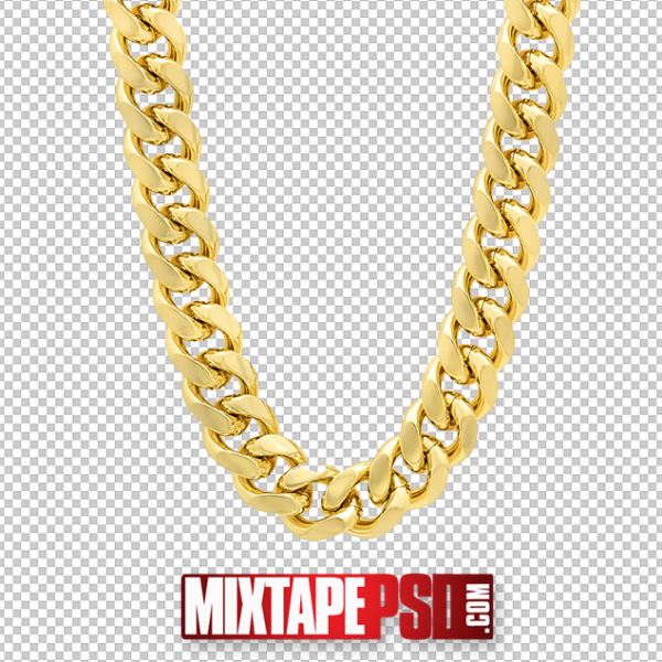 Gold Chain PNG 3