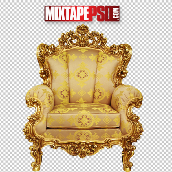 Gold Luxury Chair Template 2