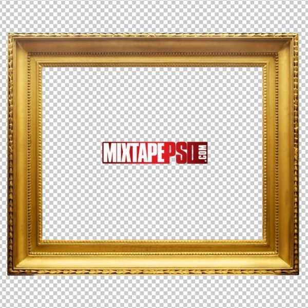 Gold Frame PNG 2