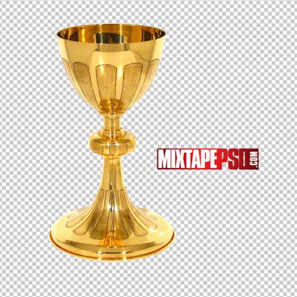 Gold Goblet PNG