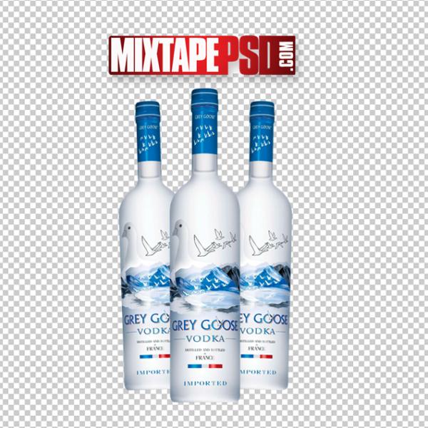 Grey Goose Vodka PNG