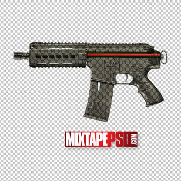 Gucci Automatic Machine Gun Template