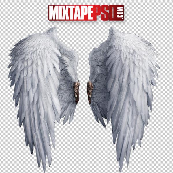 HD Angel Wings Template