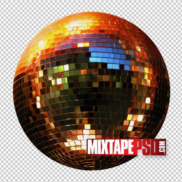 HD Disco Ball Template 3
