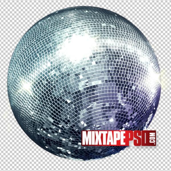 HD Disco Ball Template