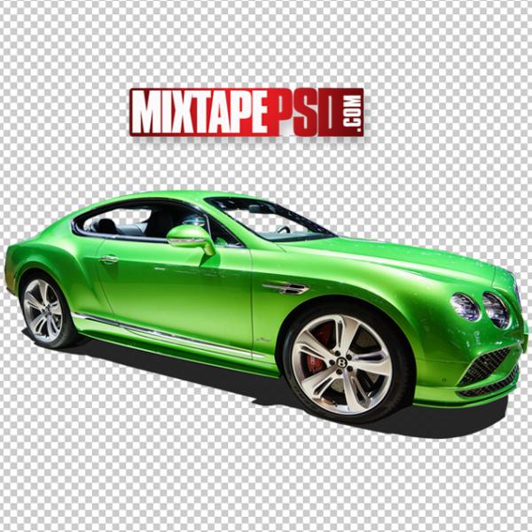 HD Green Bentley PNG
