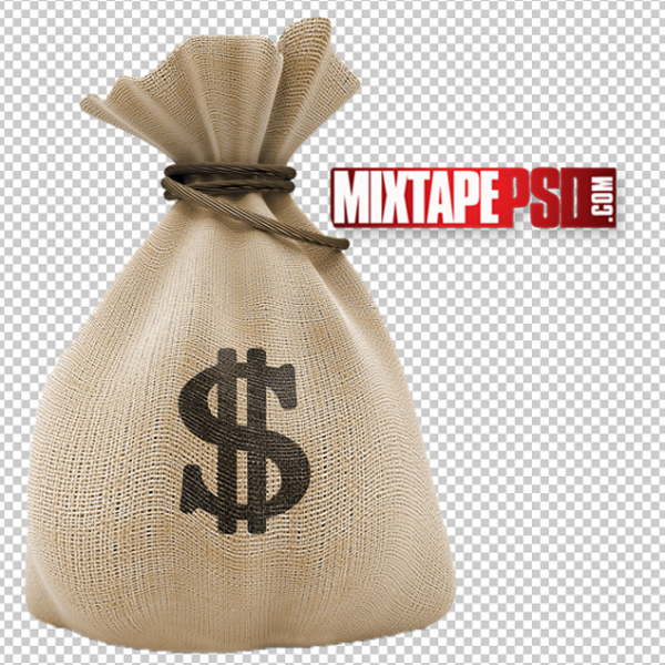 HD Money Bag Template 2