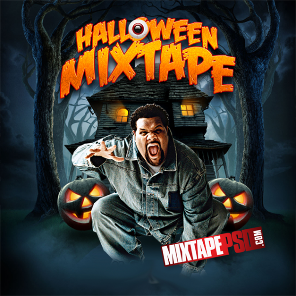 Free Halloween Mixtape Template