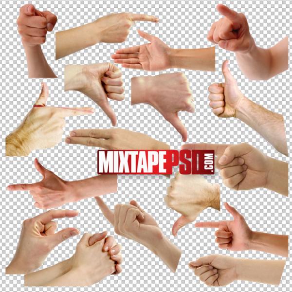 Hand Gestures PNG 2