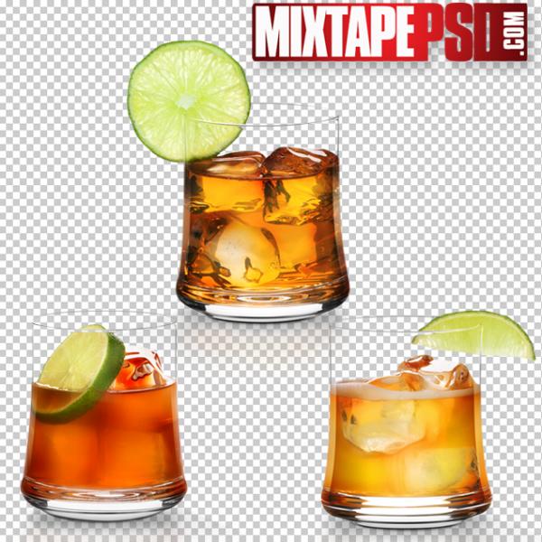 Hennessy Glasses of Liquor 2