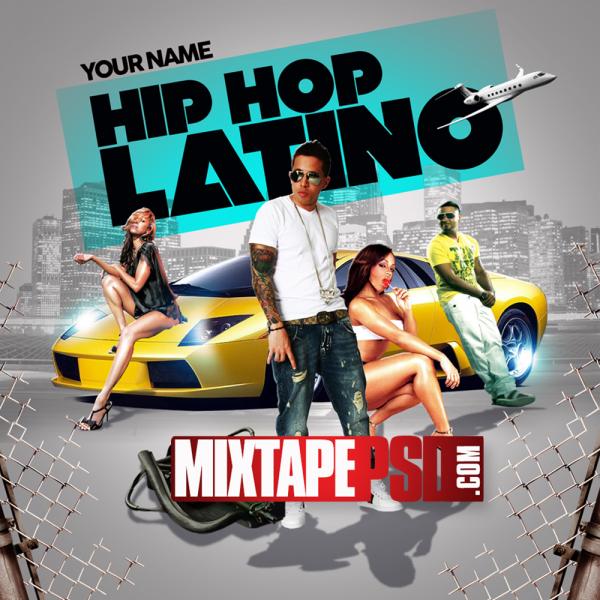 Free Hip Hop Latino PSD Template