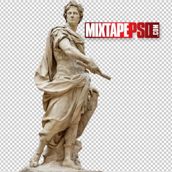 Julius Caesar Statue Template