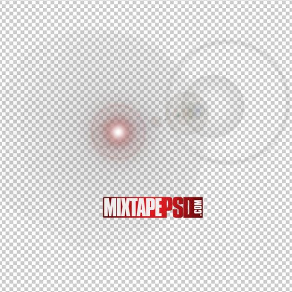 Circular Lens Optical Flare