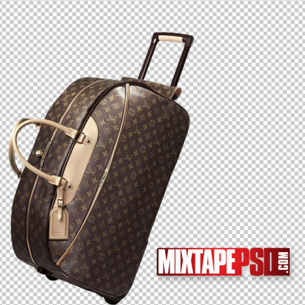 Louie Vuitton Luggage PNG