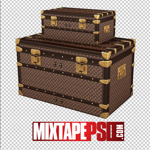 Louis Vuitton Trunk Luggage PNG