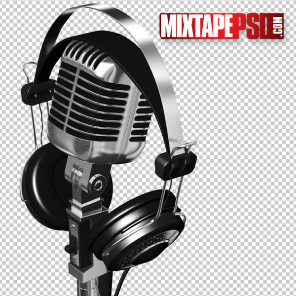 Microphone Headphones PNG