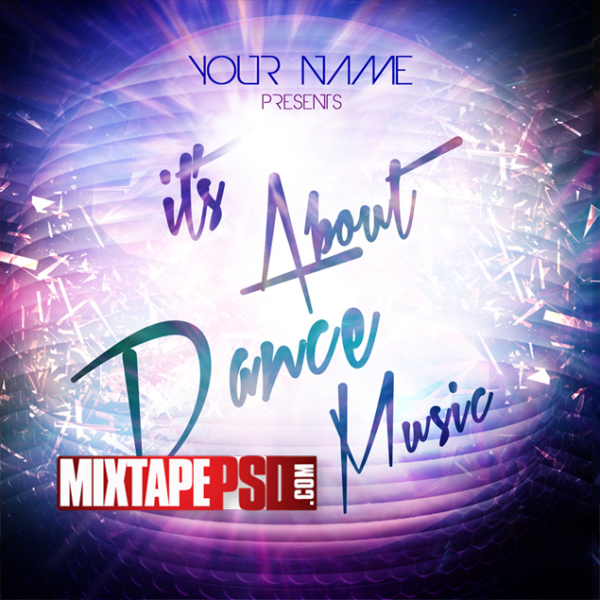 Free Mixtape Template About Dance Music