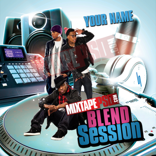 Free Mixtape Template Blend Session