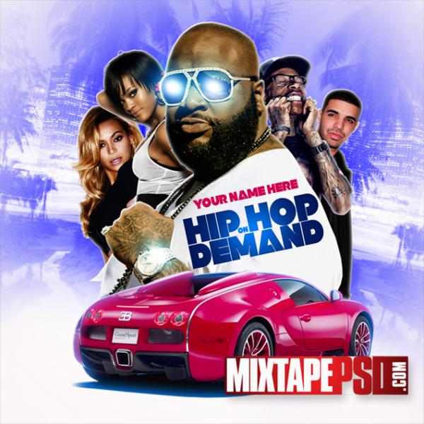 Free Mixtape Template Hip Hop on Demand