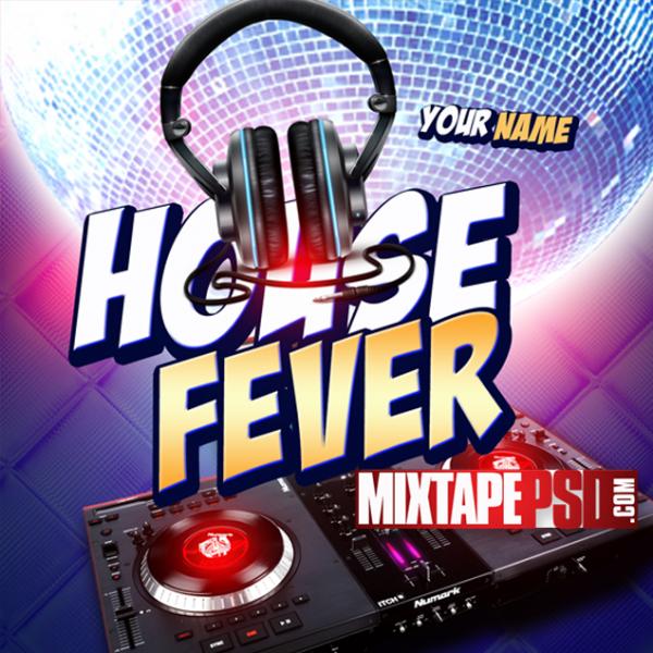 Free Mixtape Template House Fever