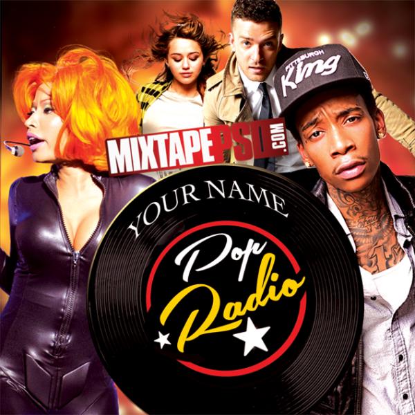Free Mixtape Template Pop Radio