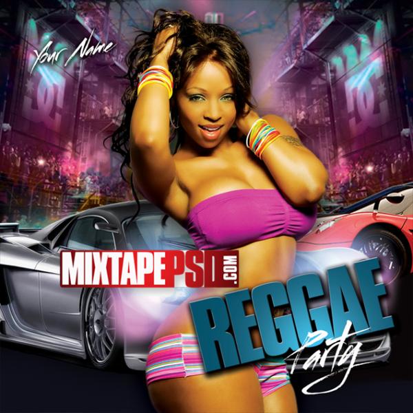 Free Mixtape Template Reggae Party