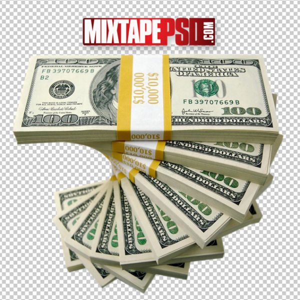 Money Stack Template 9