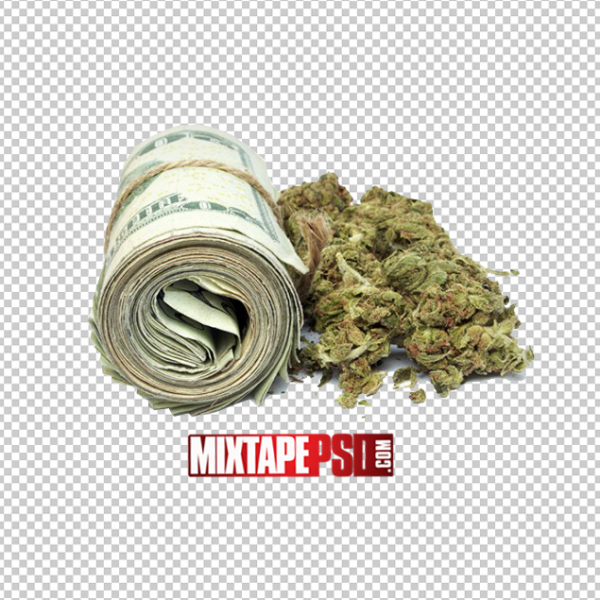 Money and Weed PNG